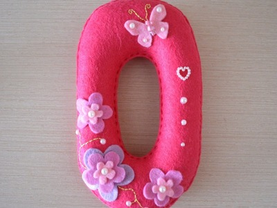 Make a Pretty Felt Letter O - DIY Crafts - Guidecentral