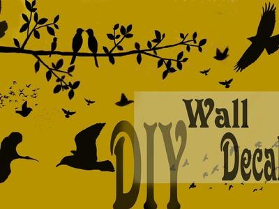 Mimi's Diy: make wall decals. fabriquer des stickers de mur
