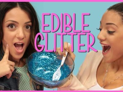 NikiAndGabiBeauty Edible Glitter?! DIY or Di-Don't