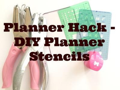 PLANNER HACK | DIY PLANNER STENCIL