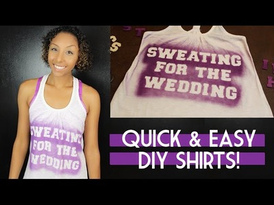 Quick & Easy DIY Shirts! | BiancaReneeToday