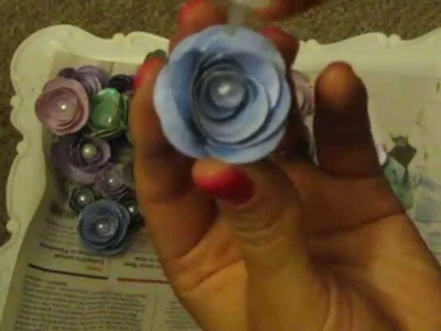 Sizzix 3-D How to flower D.I.Y