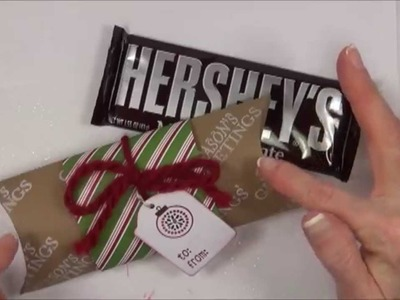Stampin Up DIY Pillow Box for Hershey Bar