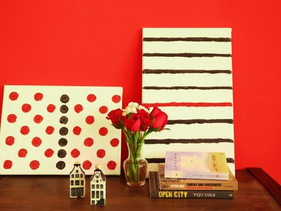 TIPPY TUESDAY: Easy DIY Artwork For Your Chic Space