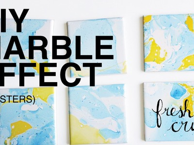 Add a DIY marble effect to just about anything!