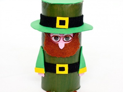 Create a Cute and Easy St. Patrick Leprechaun - DIY Crafts - Guidecentral