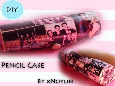 DIY Back To School || Pencil Case inspired by TV Shows&Movies