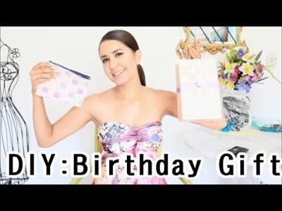 DIY: Birthday GIft (Bag, T shirt and Cosmetic Bag )