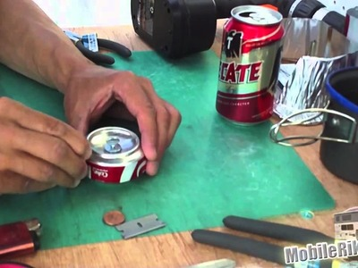 DIY Camping Stove From Soda Pop Cans - Part 5