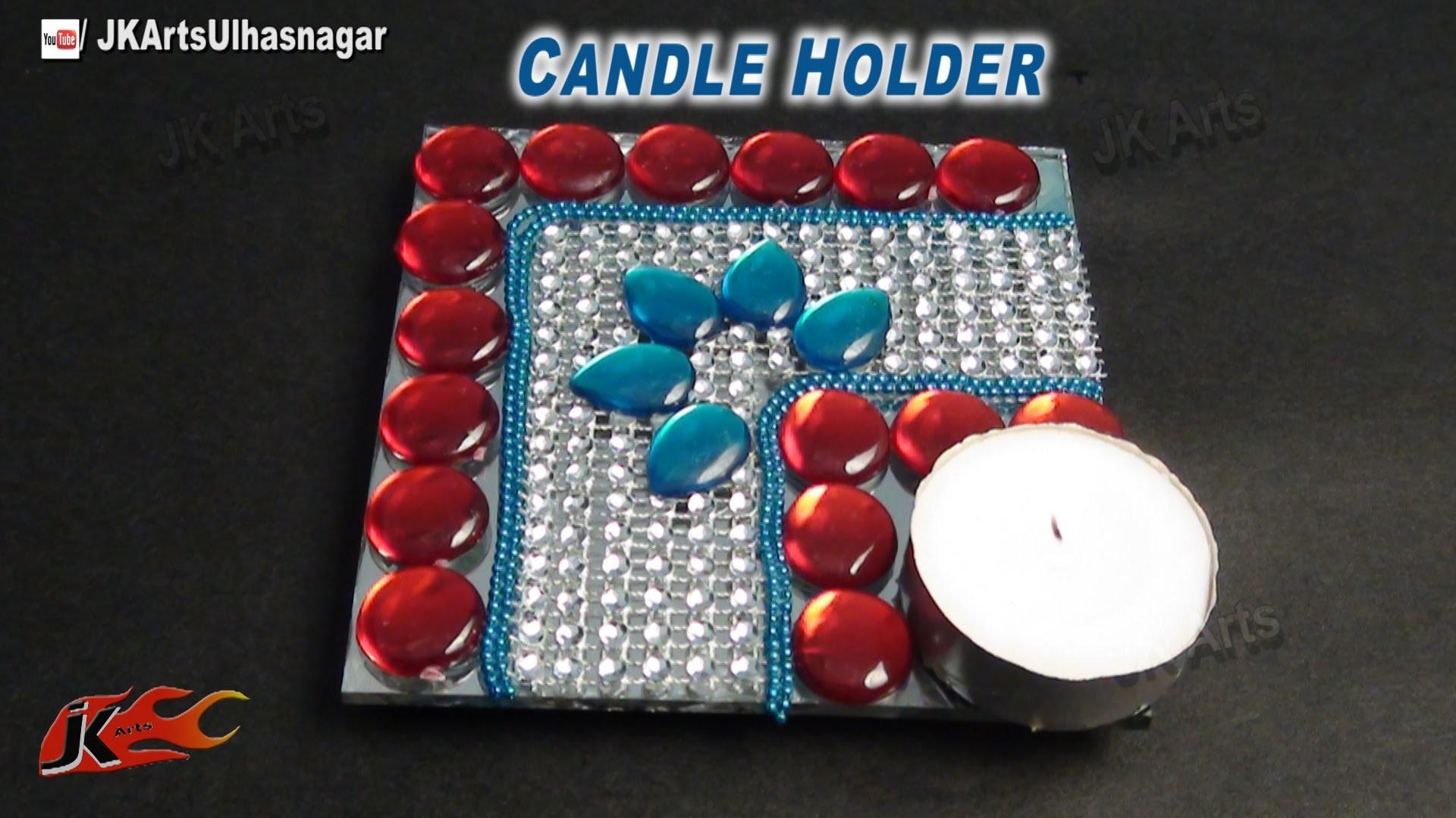 DIY Candle. Votive Holder | How to make | JK Arts 695