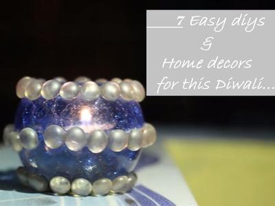DIY DIWALI ROOM DECOR & GIFTs