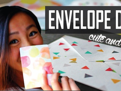 DIY Envelopes: Cute and Easy | jayjaypearl