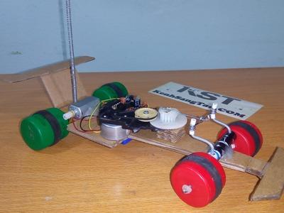 DIY Formula 1 racing car remote control, F1 RC Mini