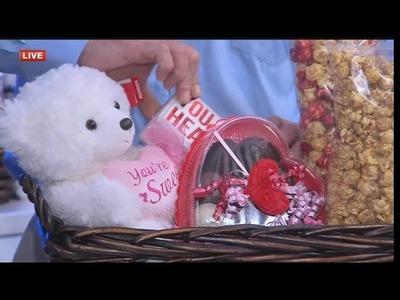 DIY gift basket for Valentine's Day