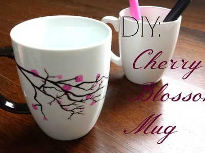 DIY Gift Idea- Cherry Blossom Mug