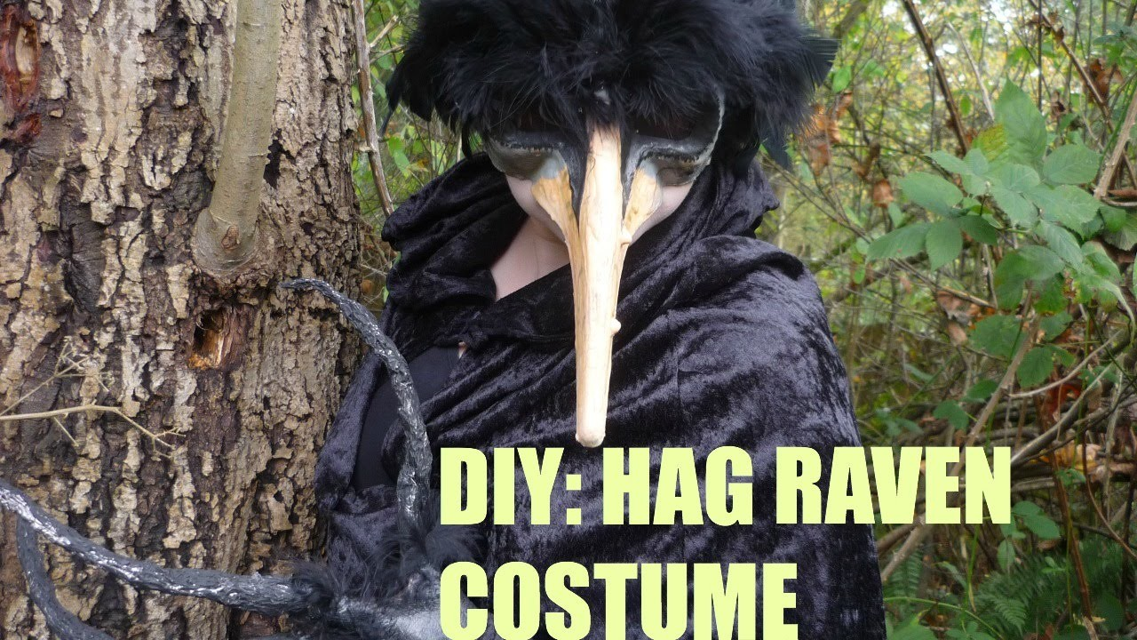 DIY: Hag Raven.Witch Costume