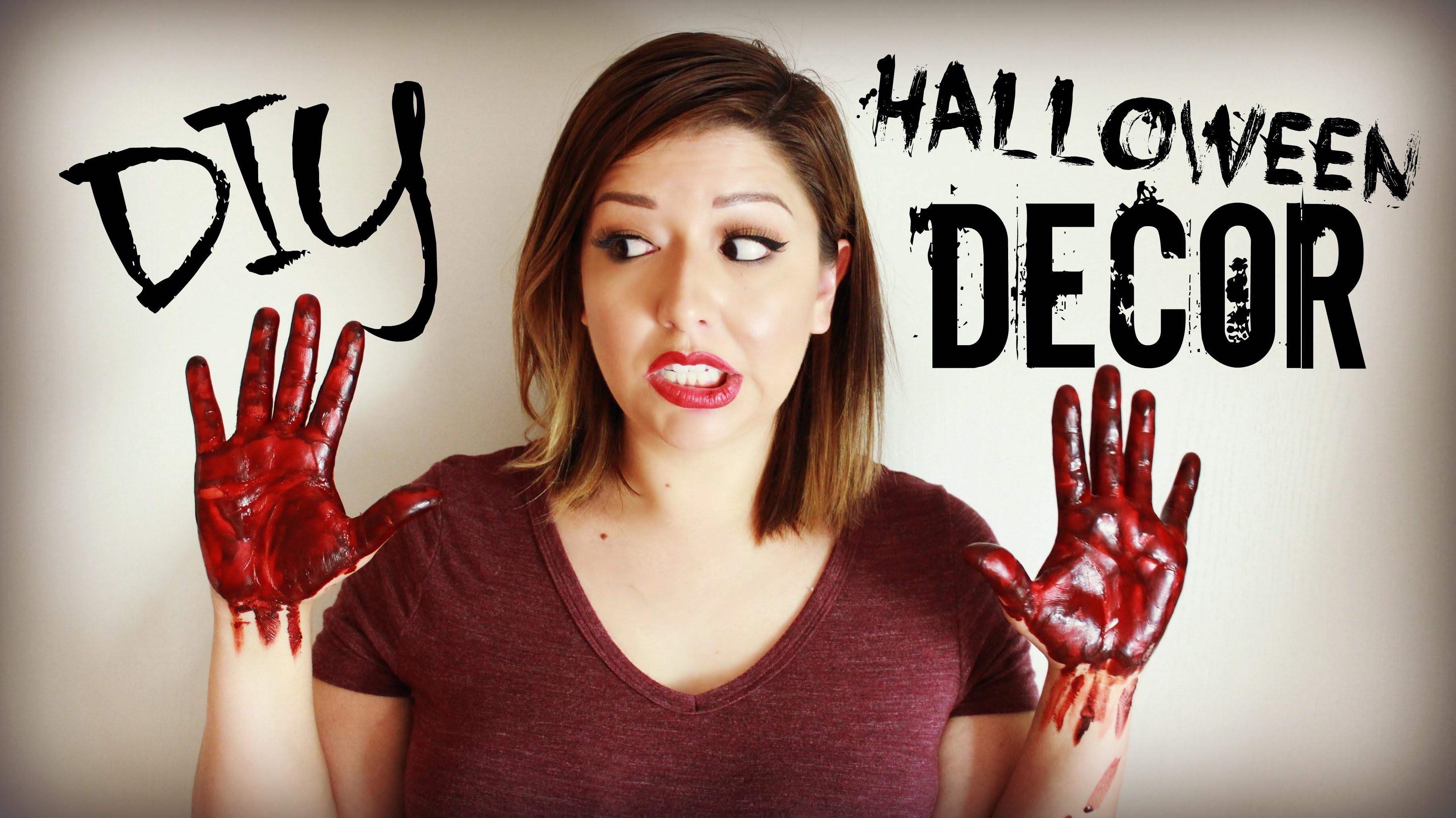 DIY Halloween Decor | Fun, Easy and Affordable!
