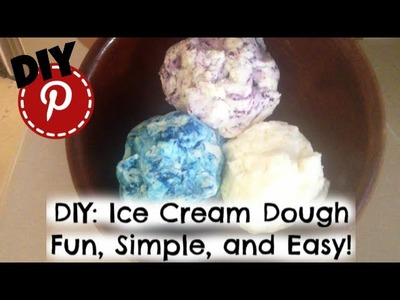 DIY: Ice Cream Dough - Prank - Science Experiment - Easy and Kid Friendly