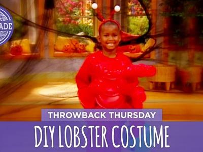 DIY Lobster Costume - Throwback Thursday - HGTV Handmade