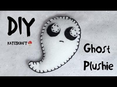 DIY | Mini Felt Ghost Plushie
