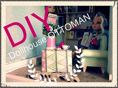 DIY ottoman for a doll house