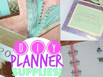 DIY Planner Supplies - Easy & Affordable!
