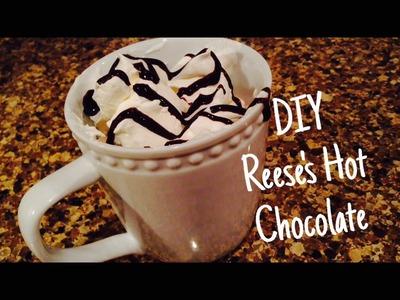 DIY Reese's Hot Chocolate | EASY