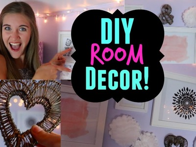DIY Room Decor! Easy, Cheap, and Adorable