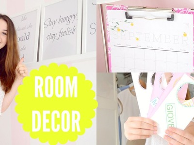 DIY ROOM DECOR\ORGANISATION FOR BACK TO SCHOOL 2015 | itsLucretia