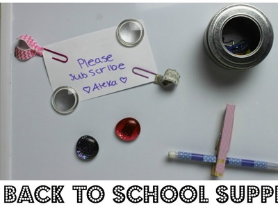 DIY School Supplies