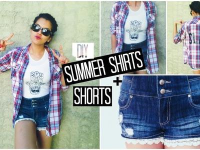 DIY Summer & Tumblr Inspired Shirts | Spirited Gal