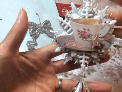 DIY Tilda Christmas Ornaments