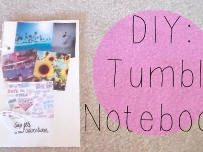 DIY   Tumblr Inspired Notebook! ♡
