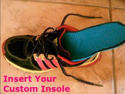 DIY Yoga Mat Custom Insoles for all your shoes !