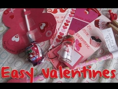 Five Easy Valentines! DIY