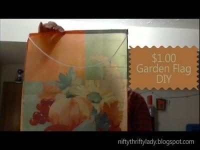 Garden Flag - DIY