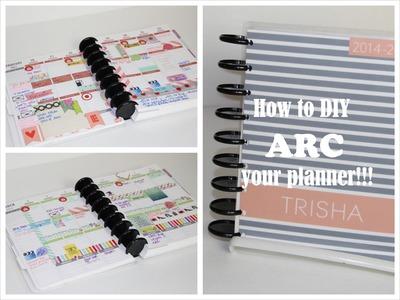 HOW TO ARC YOUR PLANNER | Erin Condren Life Planner | Plum Paper Planner