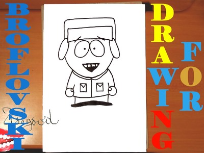 how to draw south park characters