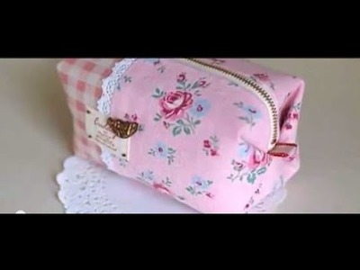 How to Make a Zipper Pouch Sewing - DIY .