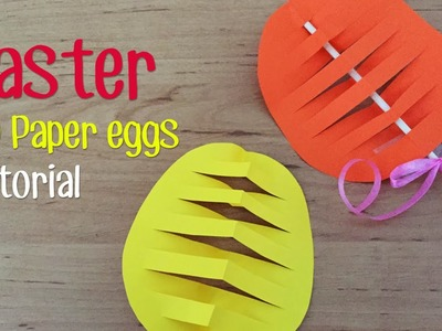 How to make Easter 3D paper egg