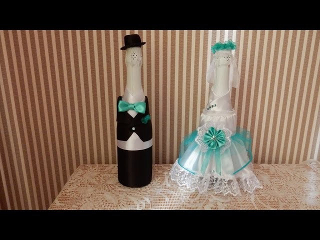 How to make the decor of the wedding the bride  Bottle D.I.Y. Wedding Favors ideas.