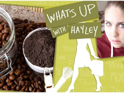 My Modified Coffee & Sugar Body Scrub DIY - What's Up With Hayley