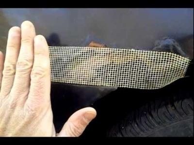 PASS INSPECTION! Car Body Rust DIY Repair Fiberglass Bondo Epoxy How-to Video
