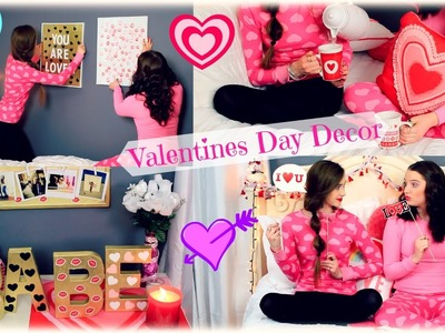 Super Cute Valentines Day Roomspiration DIY's ♡