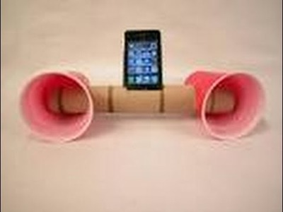 Super easy DIY project (homemade speakers)