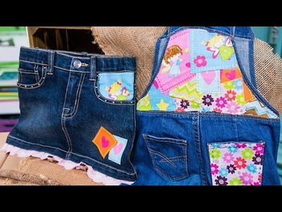 Tanya Memme's DIY Fabric Patches for Kids' Clothes - Extra!