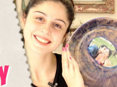 Valentine's Day DIY ♡ Picture Plate ♡ #VDAYWITHSHERRY