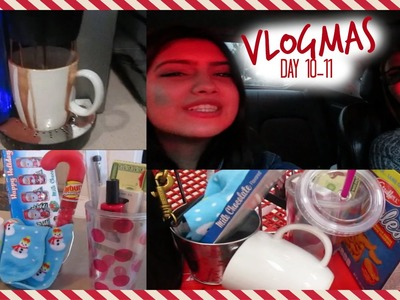 VLOGMAS DAY 10-11: Target, DIY Gifts, & MY HOUSE IS FLOODED