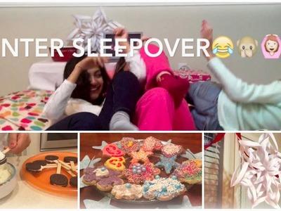 Winter Sleepover! DIY Decor, Treats, & Activities!