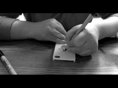 ASMR - DIY iPhone Case Designing Part One - and Softly Spoken Rambling